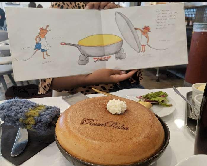 ぐりとぐらパンケーキ